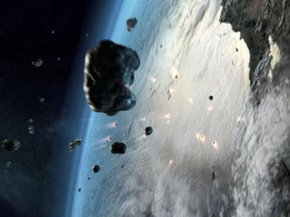 روزانه هزاران تُن شهاب از آسمان با سرعتی معدل پنجاه کیلومتر در ثانیه به طرف زمین سرازیر می شود.